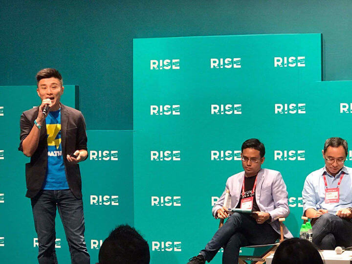 CEO, Henry Chui takes centre stage in Day 1 of #RISEPITCH
