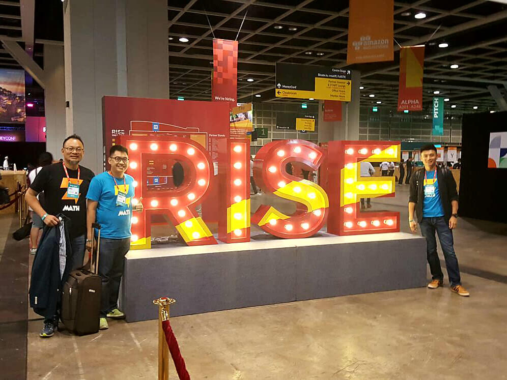 The team who chose to RISE, with #RISE
