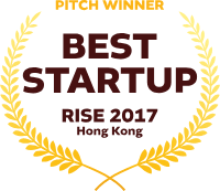 Pitch Winner - Best Startup RISE 2017 Hong Kong