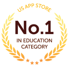 US App Store - No. 1 In Education Category