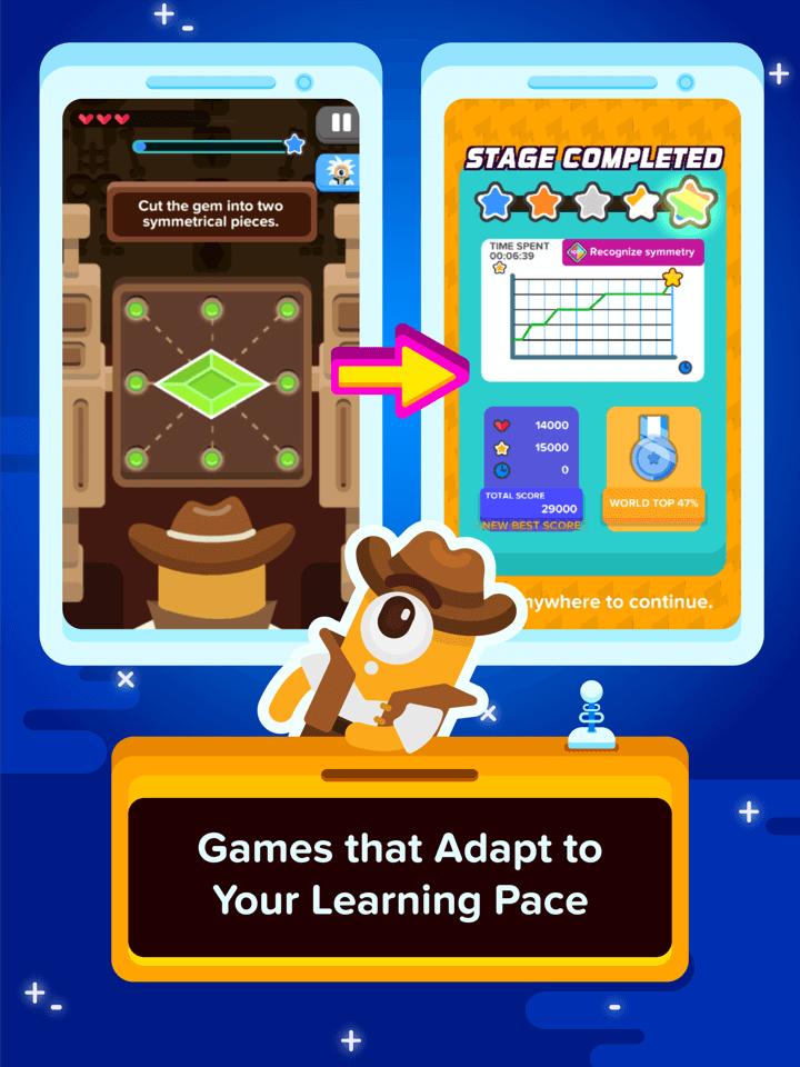 Adaptive learning feature