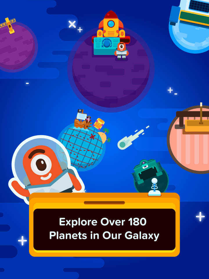 Over 180 games of fun math puzzles