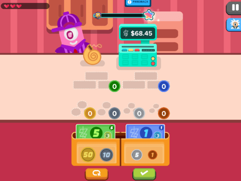 Money Math Games: Counting Money