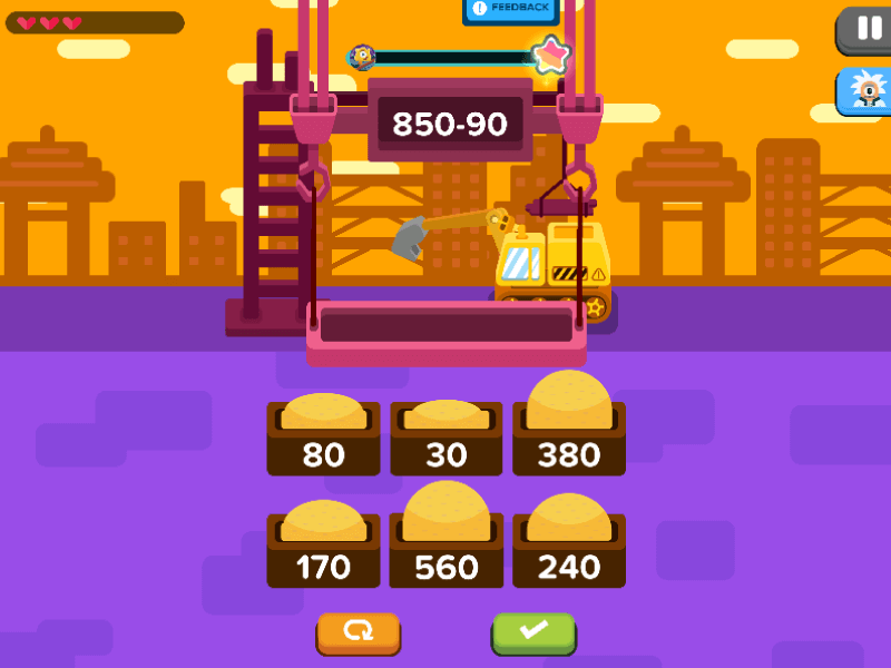 Subtraction Games: Mega Builder