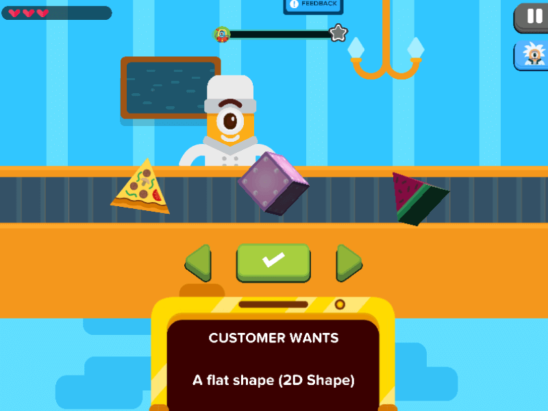 2D Geometric Shapes: Shape Picker