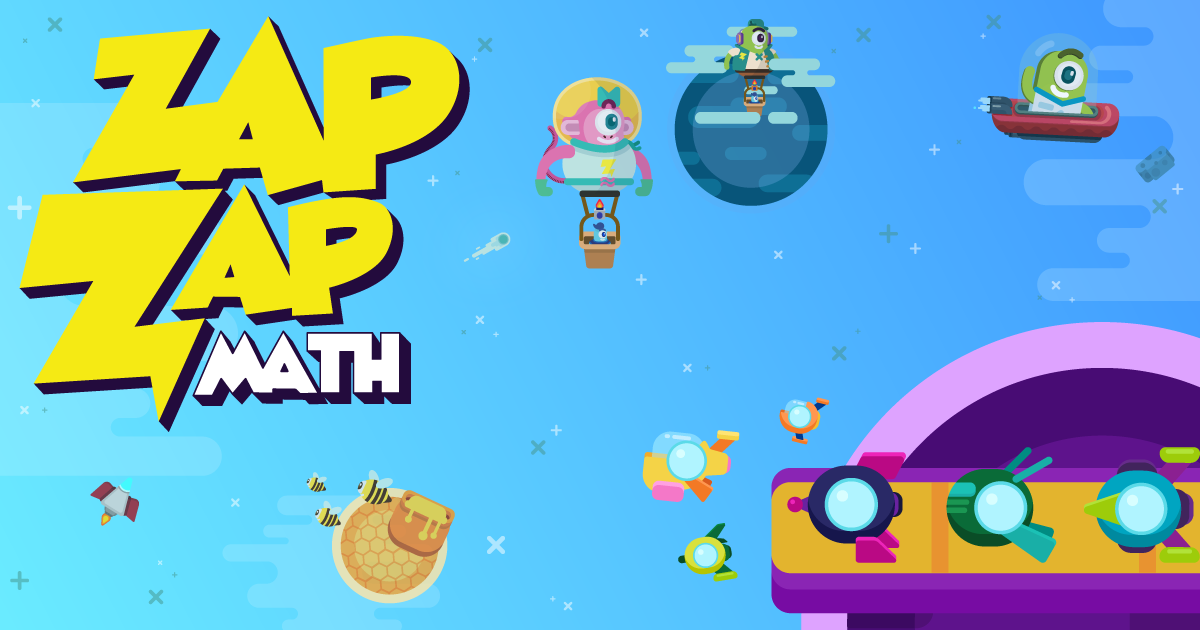 Fun math games for kids grade K-6 | Zapzapmath